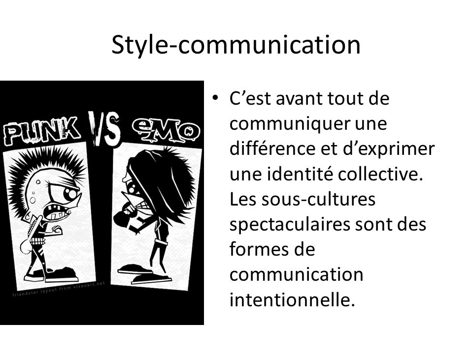 Style-communication