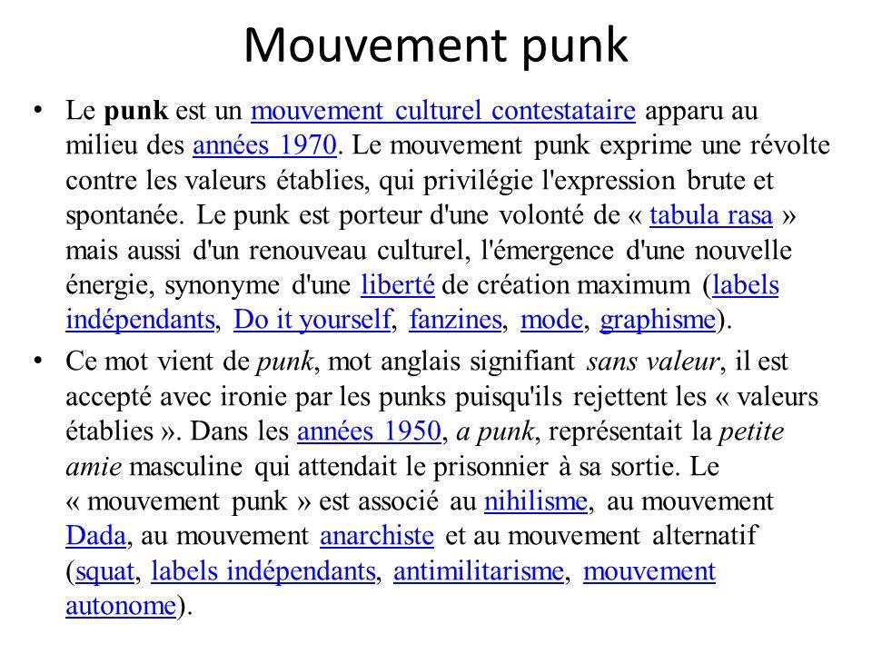 Mouvement punk
