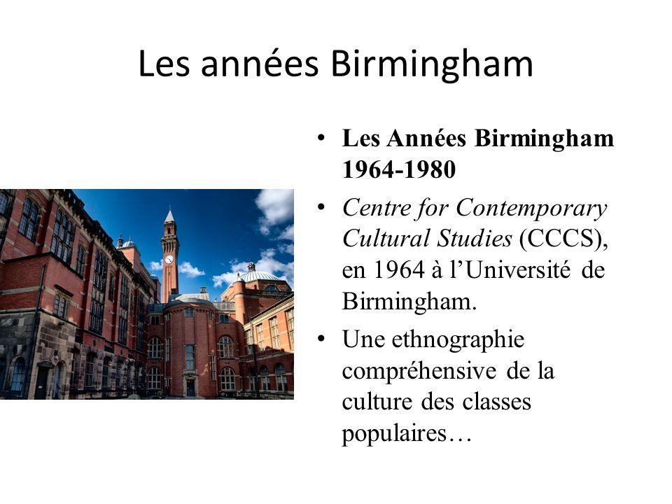 Les années Birmingham Les Années Birmingham 1964-1980