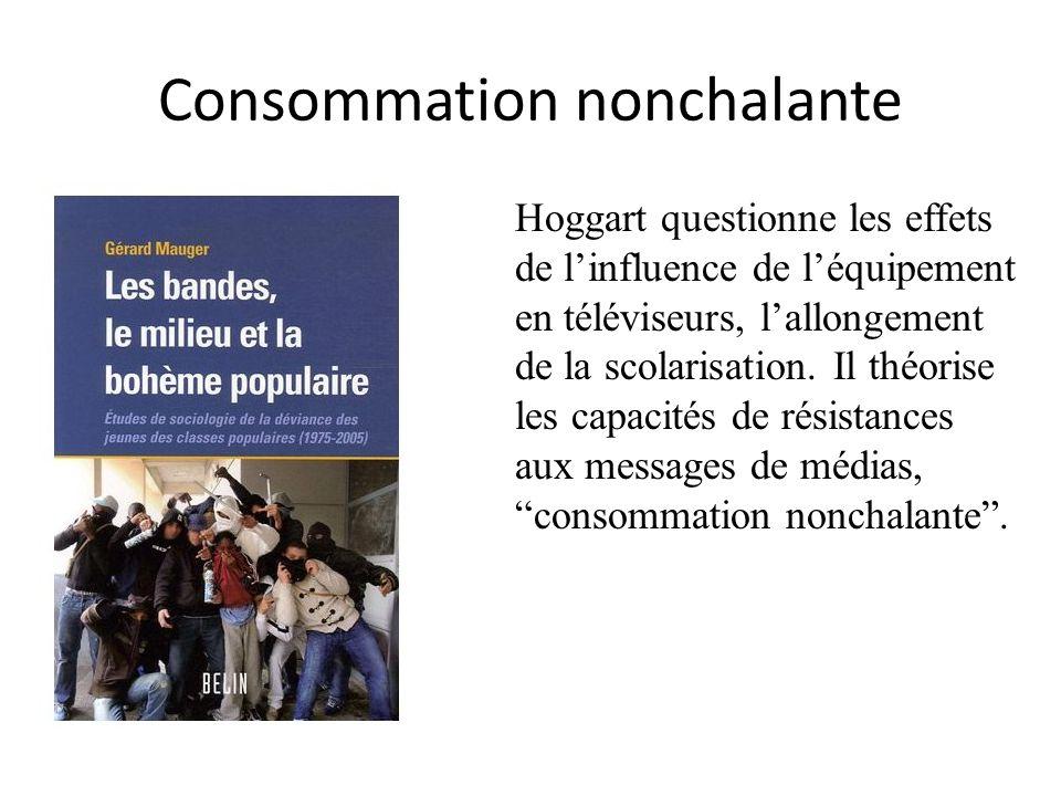 Consommation nonchalante