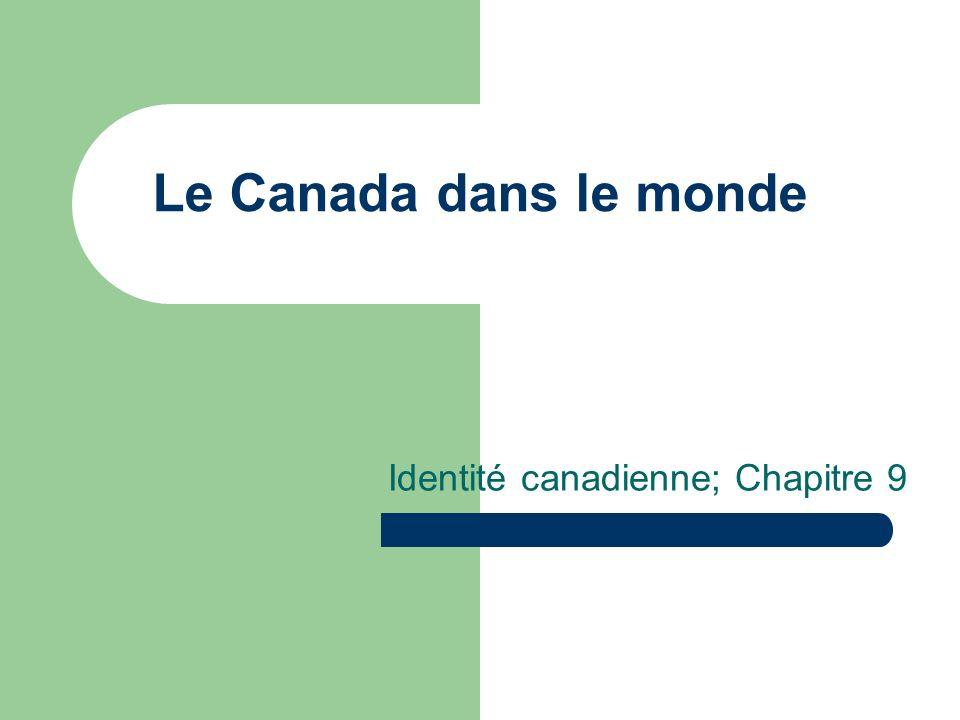 Identité canadienne; Chapitre 9