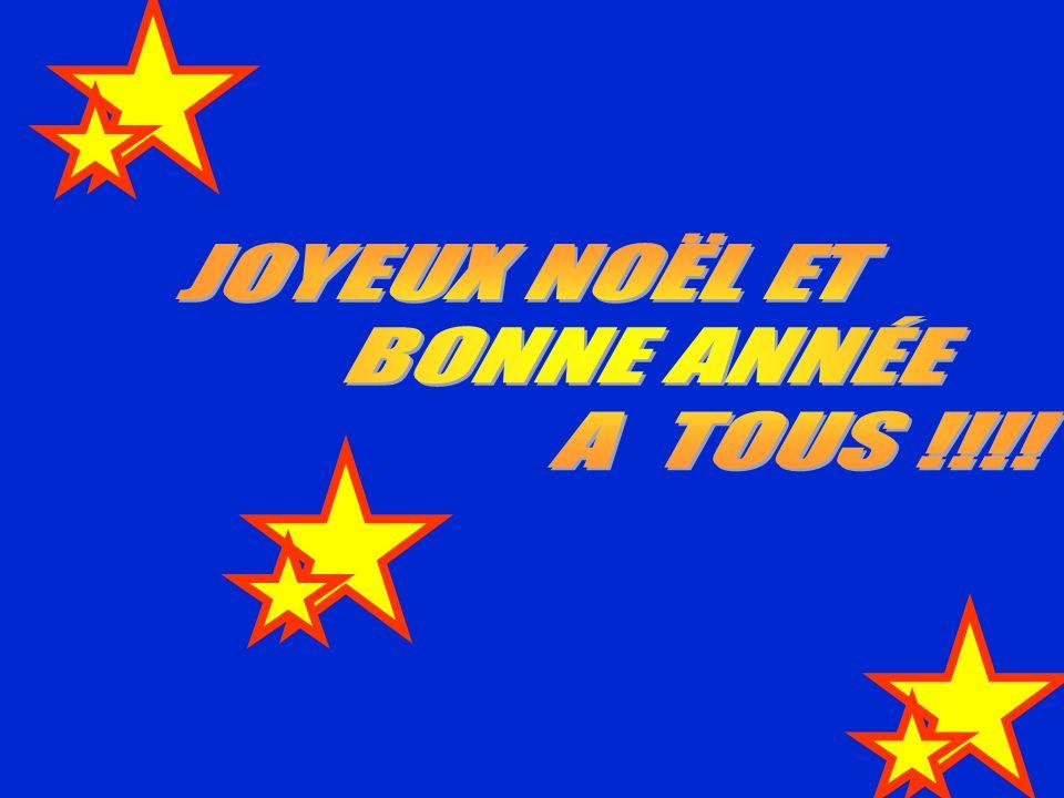 JOYEUX NOËL ET BONNE ANNÉE A TOUS !!!!