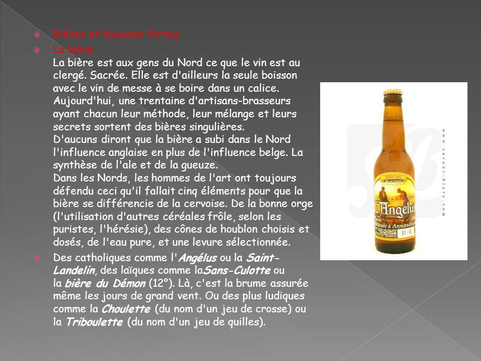 Bières et boissons fortes