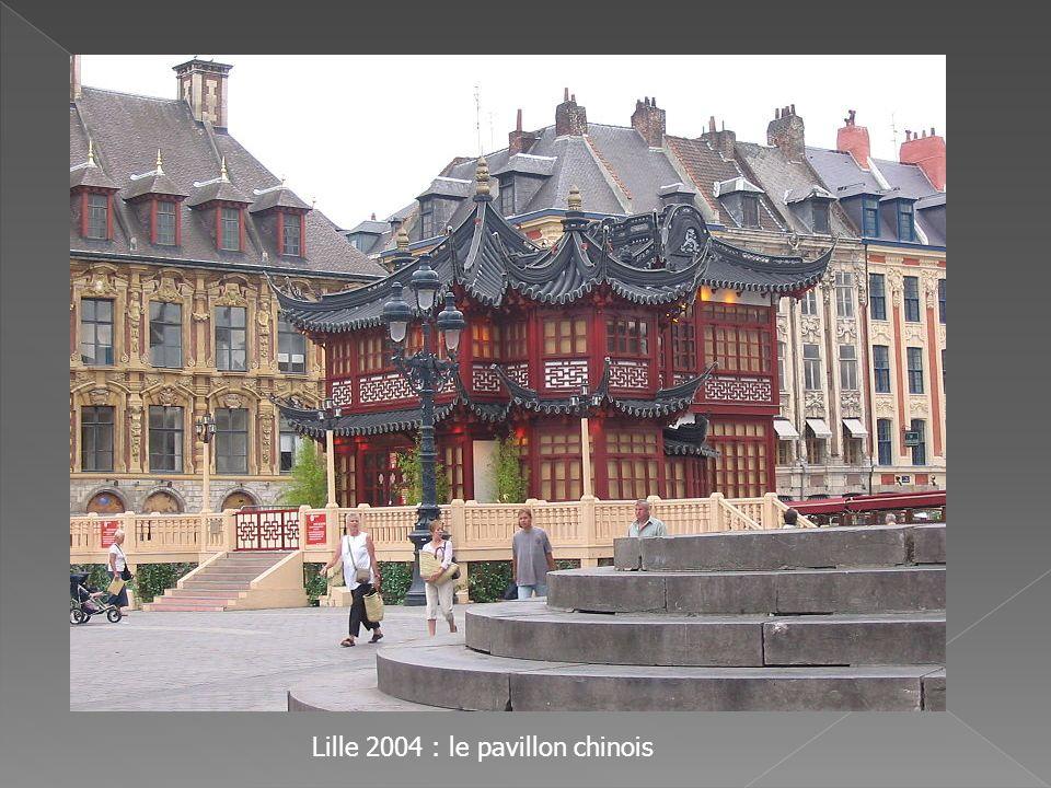 Lille 2004 : le pavillon chinois