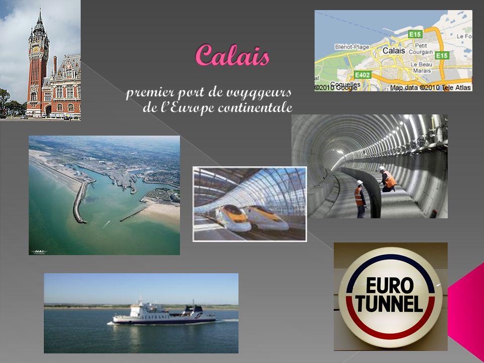 premier port de voyqgeurs de l'Europe continentale