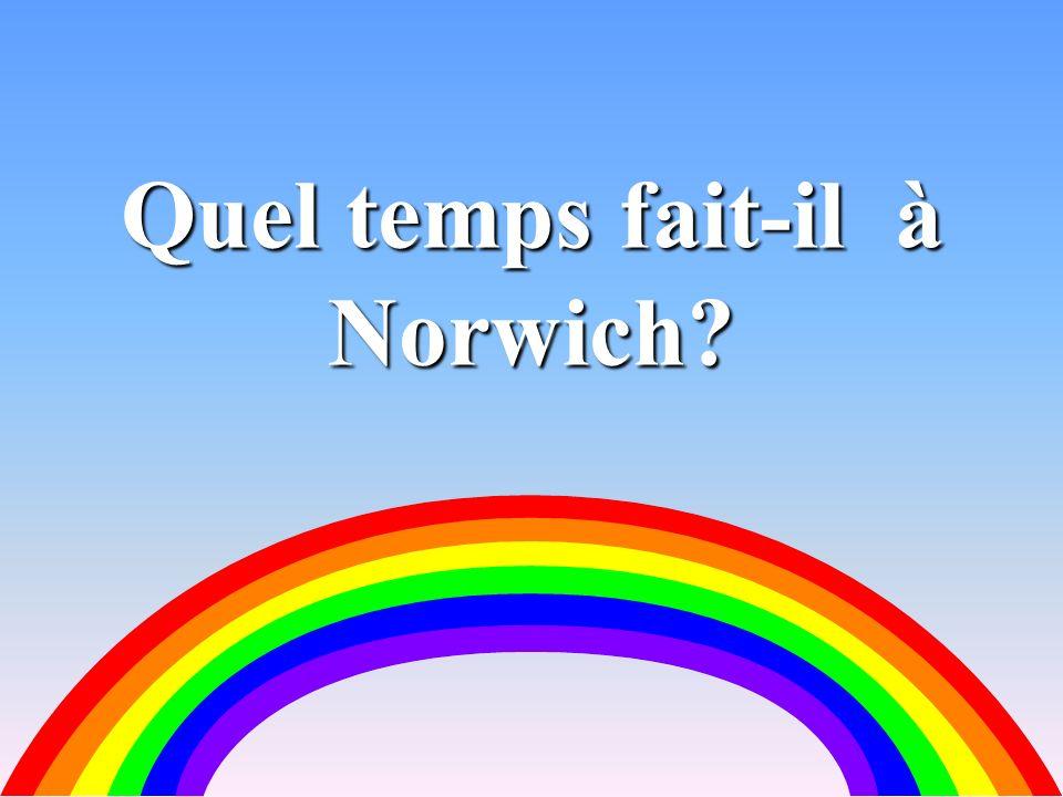 Quel temps fait-il à Norwich