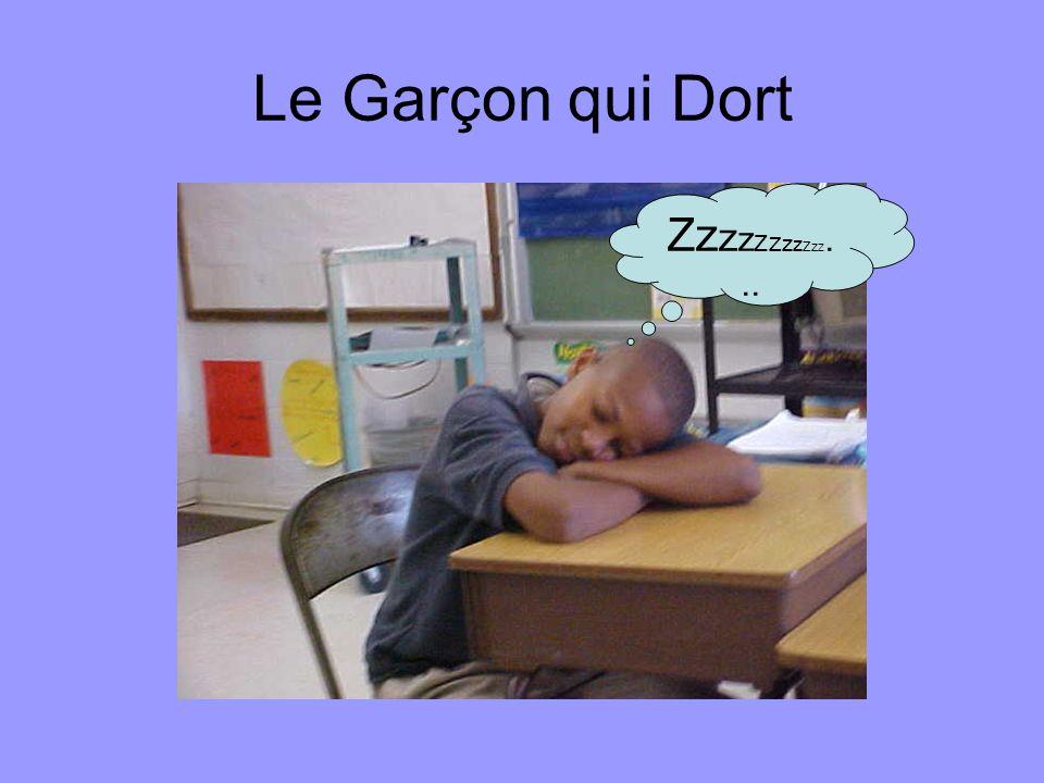 Le Garçon qui Dort Zzzzzzzzzzz...
