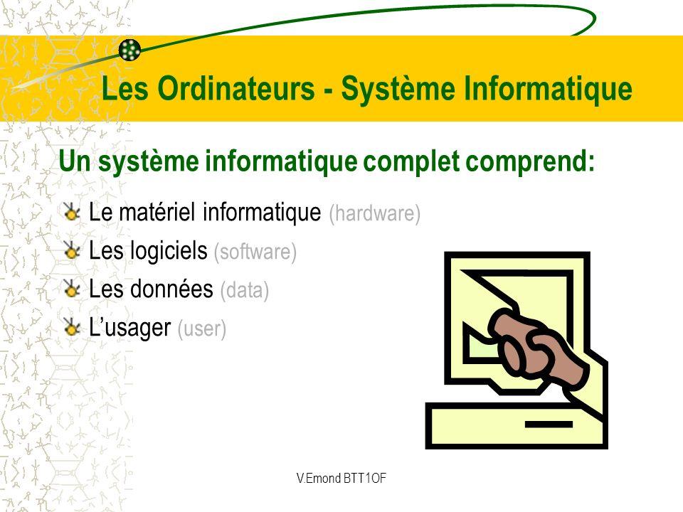 Les Ordinateurs - Système Informatique