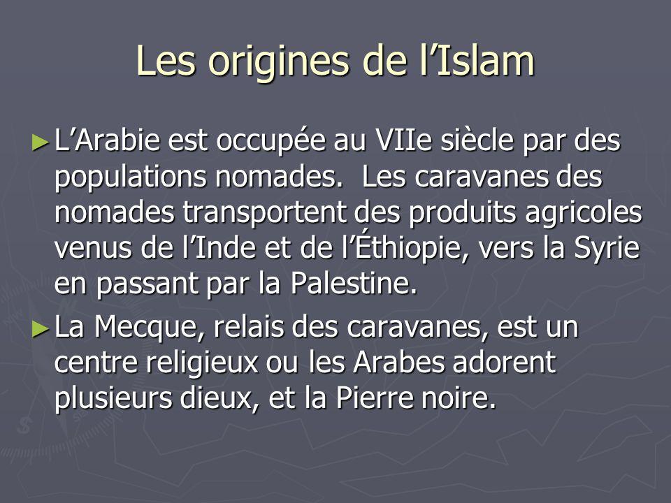 Les origines de l'Islam