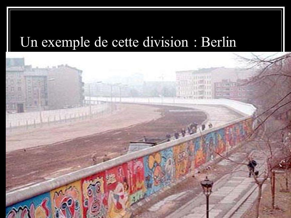 Un exemple de cette division : Berlin