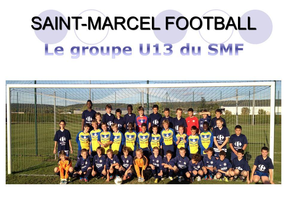 Le groupe U13 du SMF