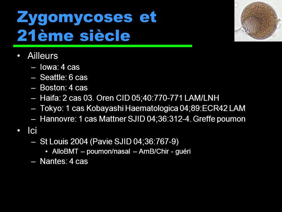 Zygomycoses et 21ème siècle
