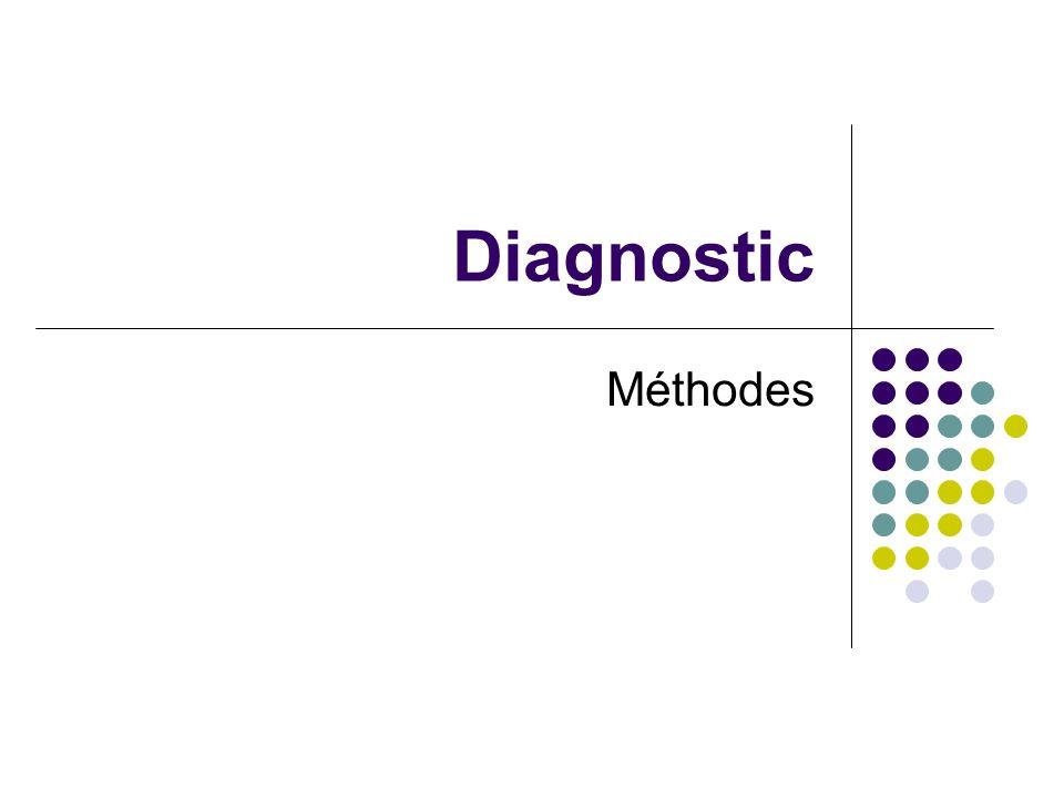 Diagnostic Méthodes