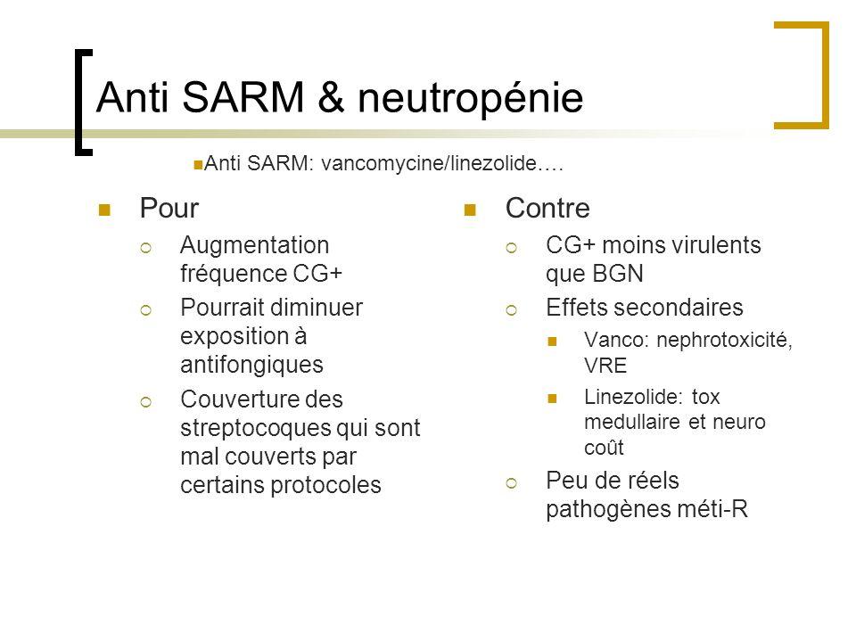 Anti SARM & neutropénie