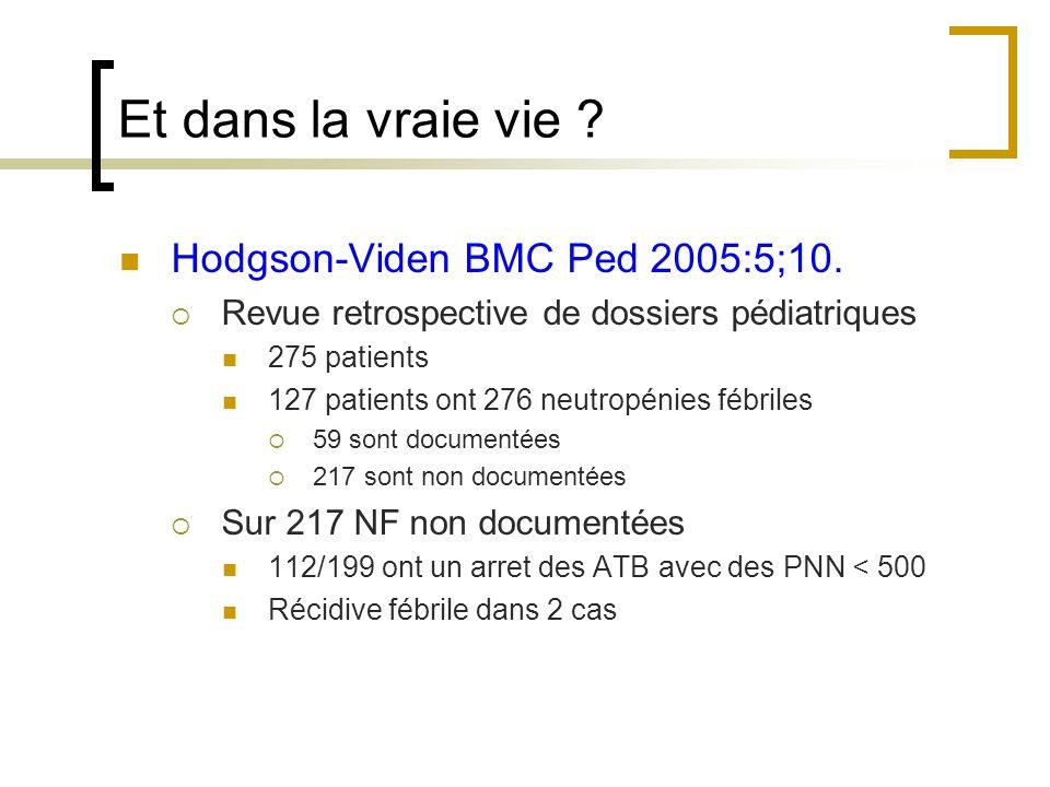 Et dans la vraie vie Hodgson-Viden BMC Ped 2005:5;10.