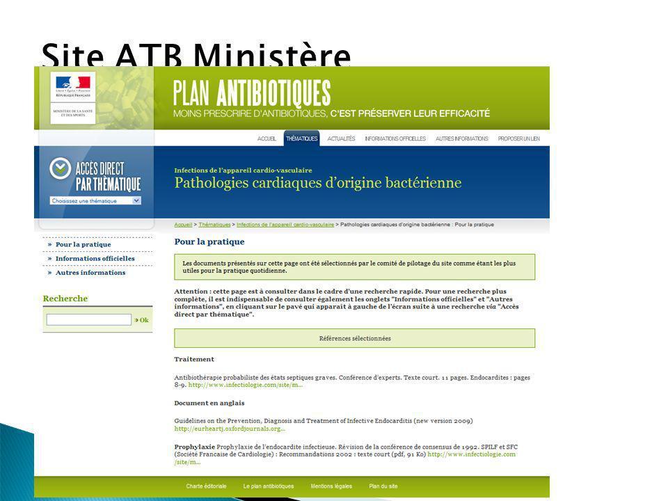 Site ATB Ministère
