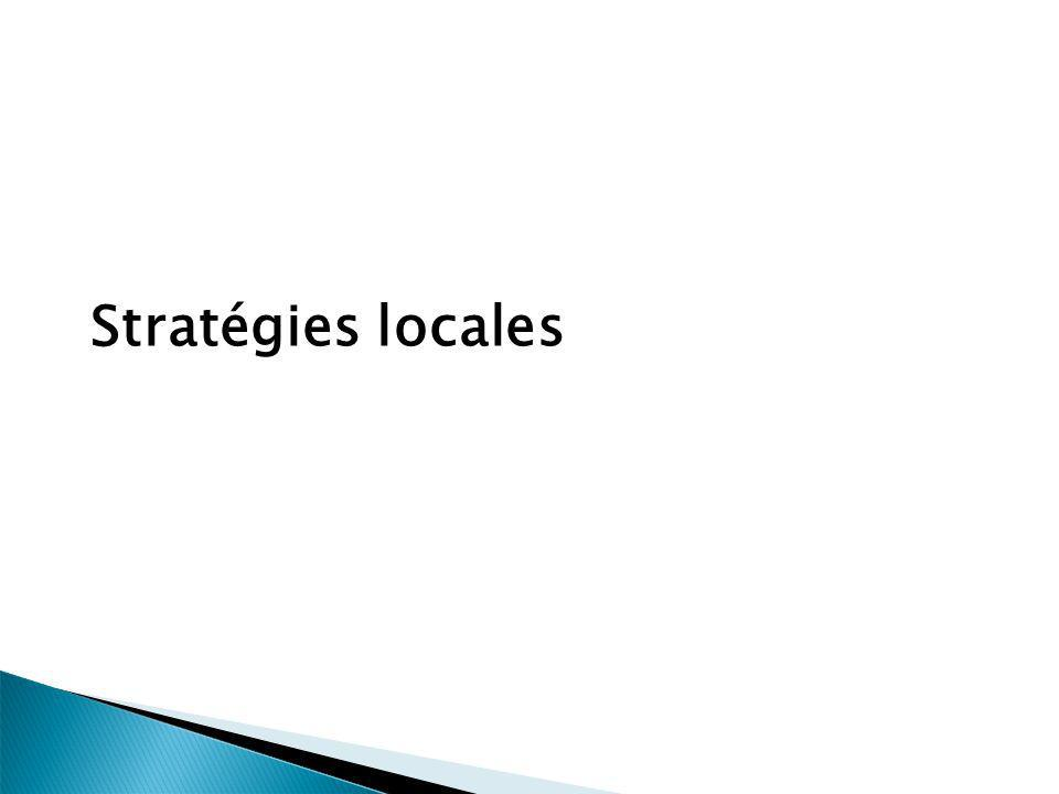 Stratégies locales