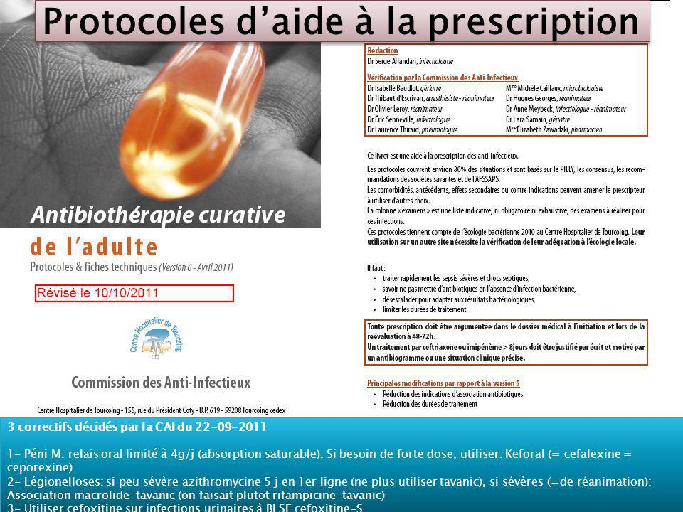 Protocoles d'aide à la prescription