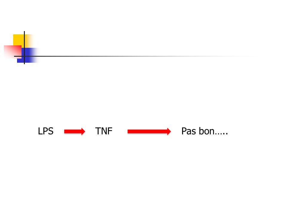 LPS TNF Pas bon…..