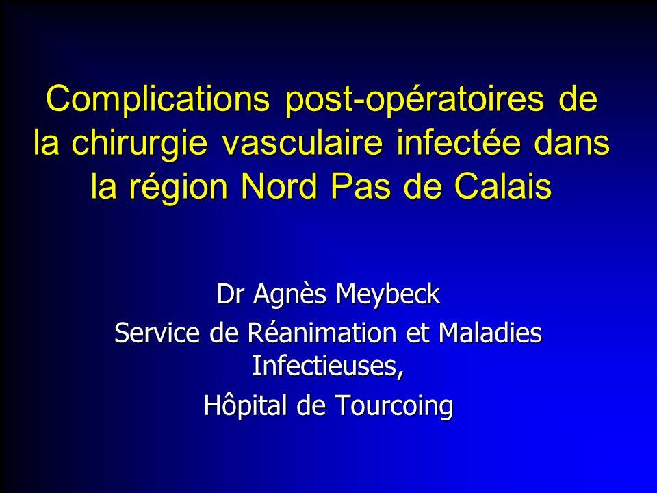Service de Réanimation et Maladies Infectieuses,