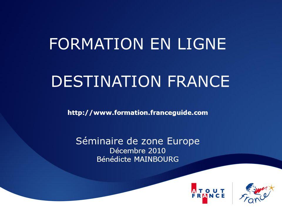 FORMATION EN LIGNE DESTINATION FRANCE http://www. formation