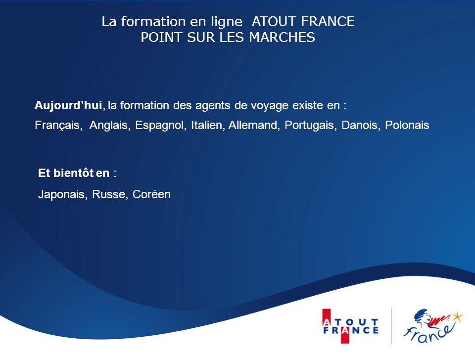 La formation en ligne ATOUT France