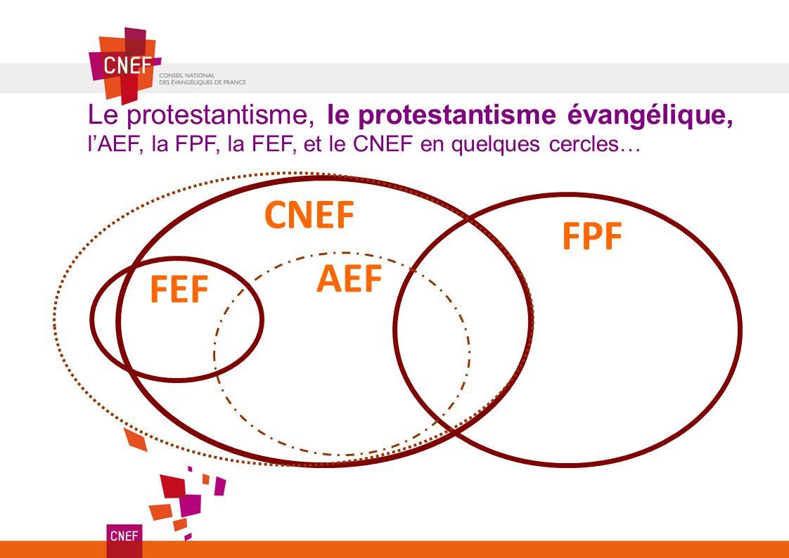 CNEF FPF AEF FEF Le protestantisme, le protestantisme évangélique,
