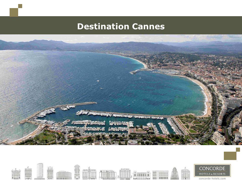 Destination Cannes Toujours conserver un espace minimum à gauche (limite des carrés en haut à gauche) pour une éventuelle reliure.