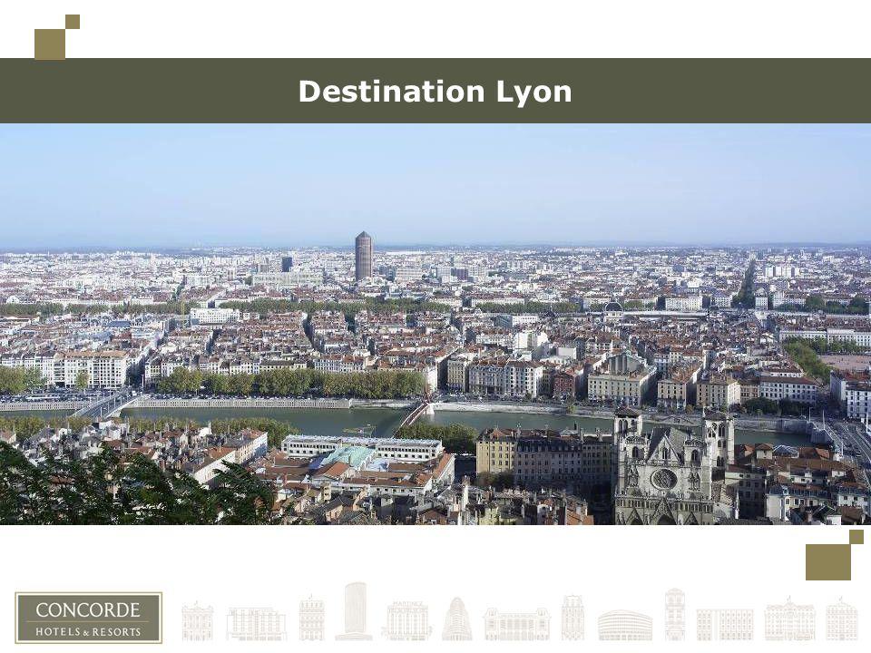 Destination Lyon Toujours conserver un espace minimum à gauche (limite des carrés en haut à gauche) pour une éventuelle reliure.