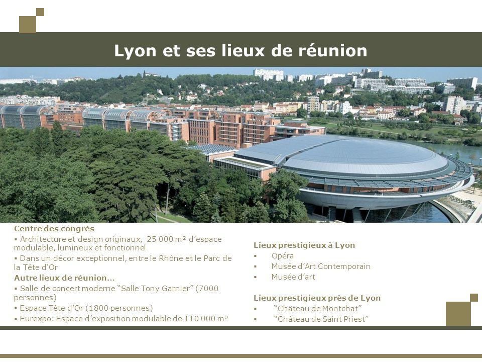 Lyon et ses lieux de réunion