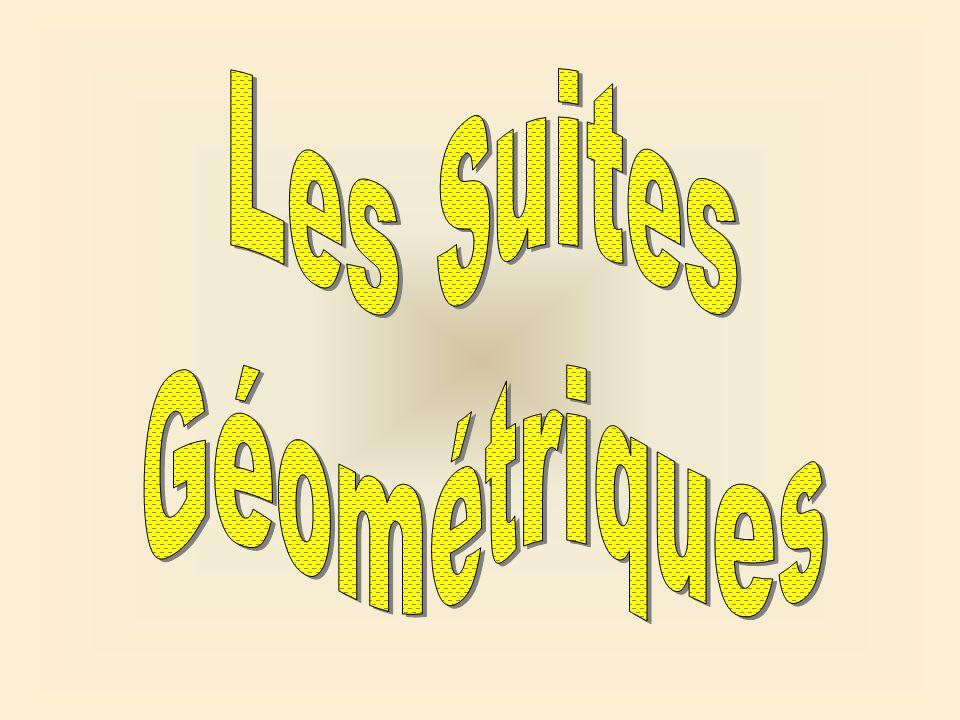 Les Suites Géométriques