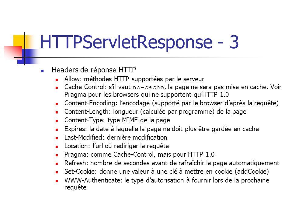 HTTPServletResponse - 3