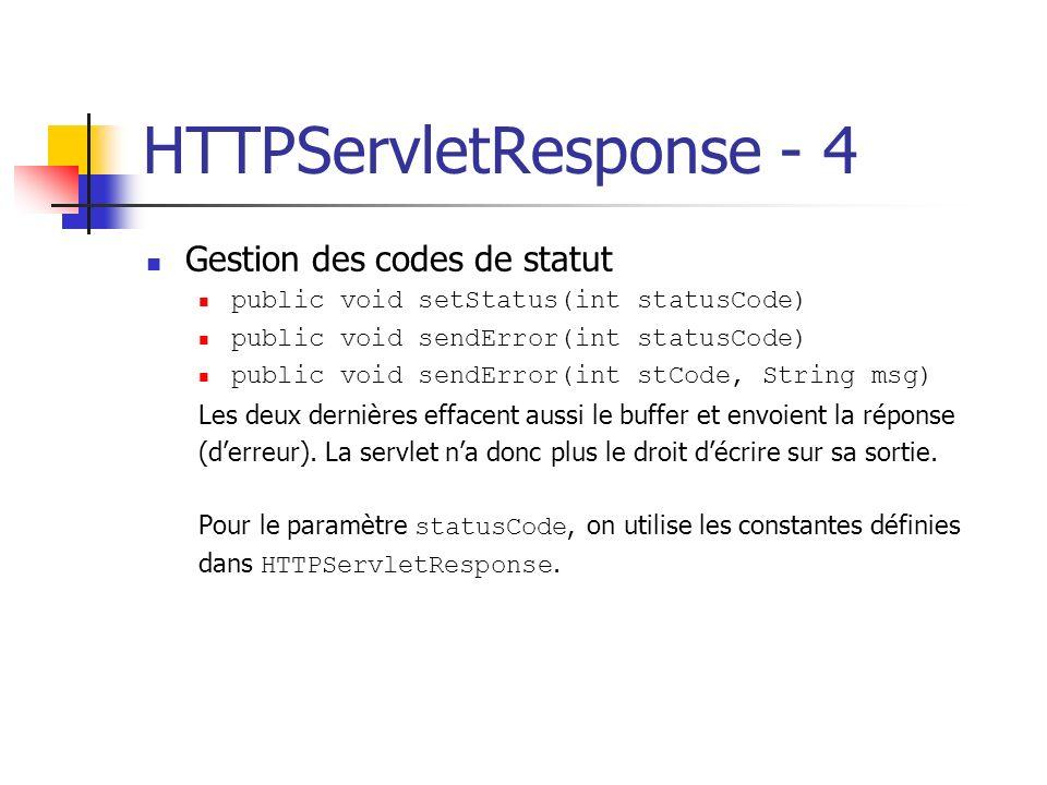 HTTPServletResponse - 4