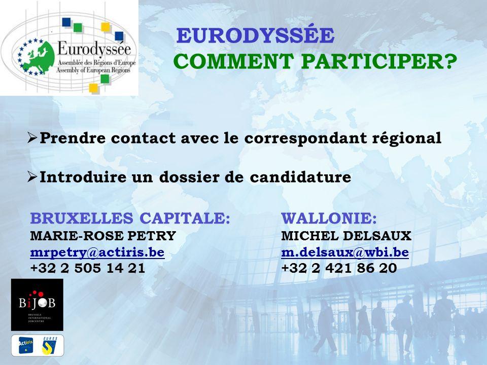 EURODYSSÉE COMMENT PARTICIPER