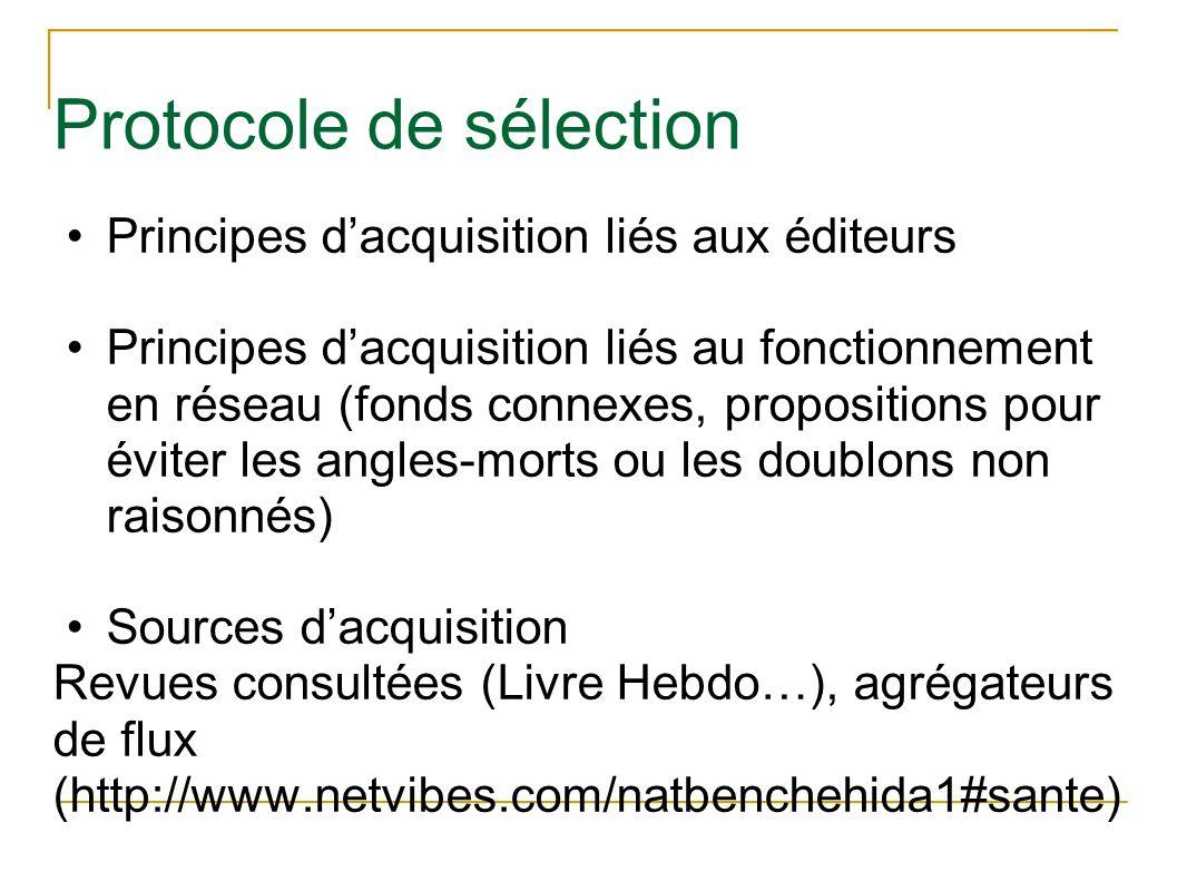 Protocole de sélection