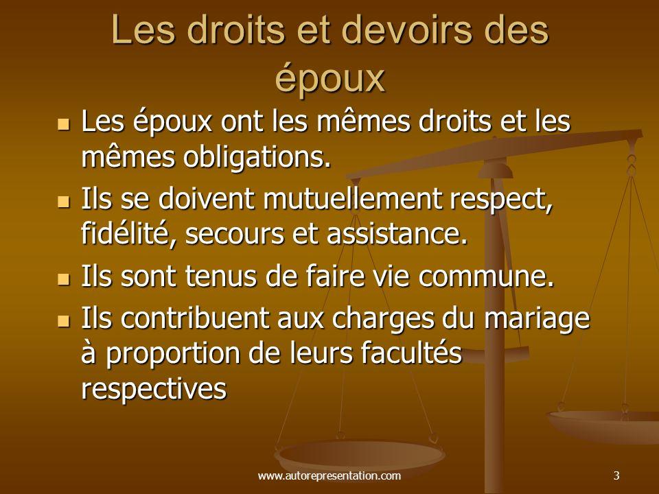 Le mariage et l union civile ppt t l charger - Les droits et les devoirs ...