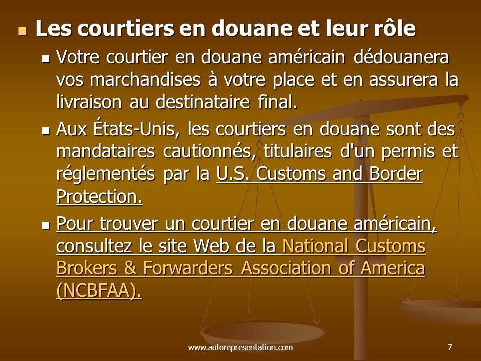 Les courtiers en douane et leur rôle