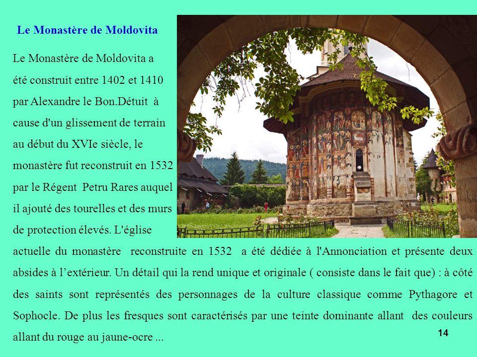 Le Monastère de Moldovita