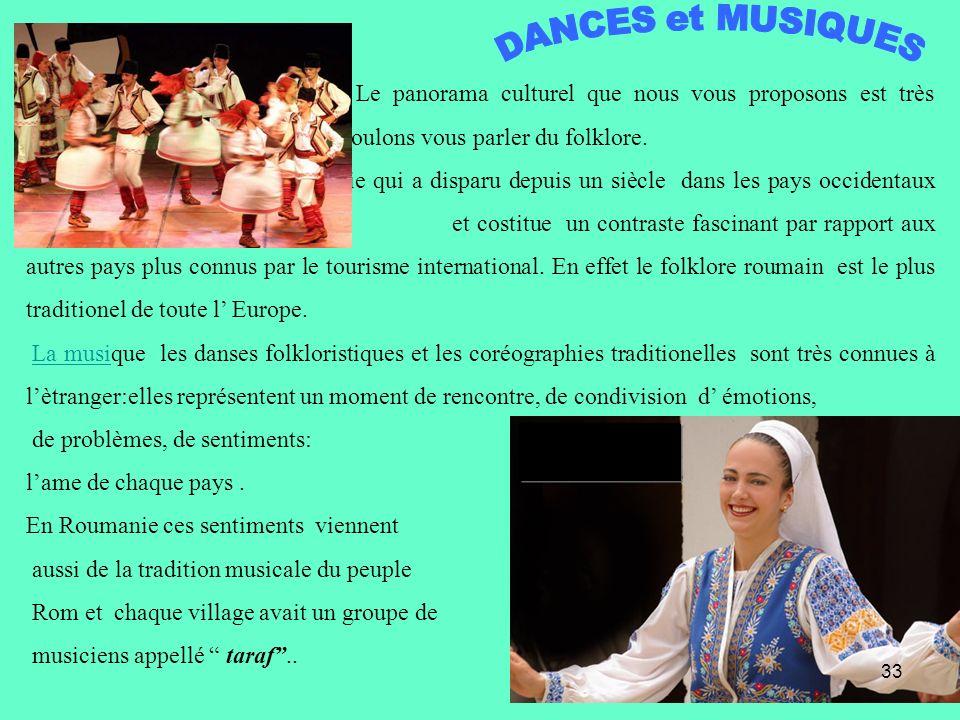 DANCES et MUSIQUES