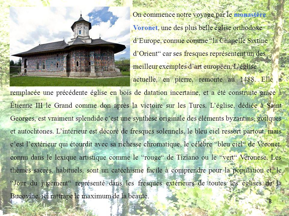 On commence notre voyage par le monastère