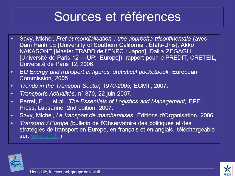 Sources et références
