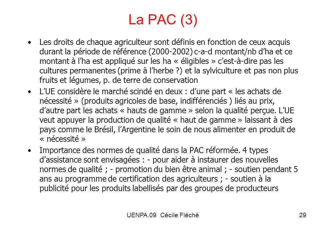 La PAC (3)