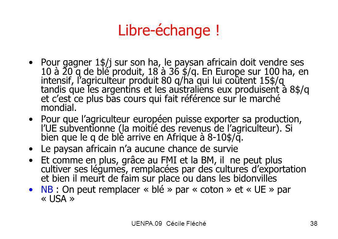 Libre-échange !
