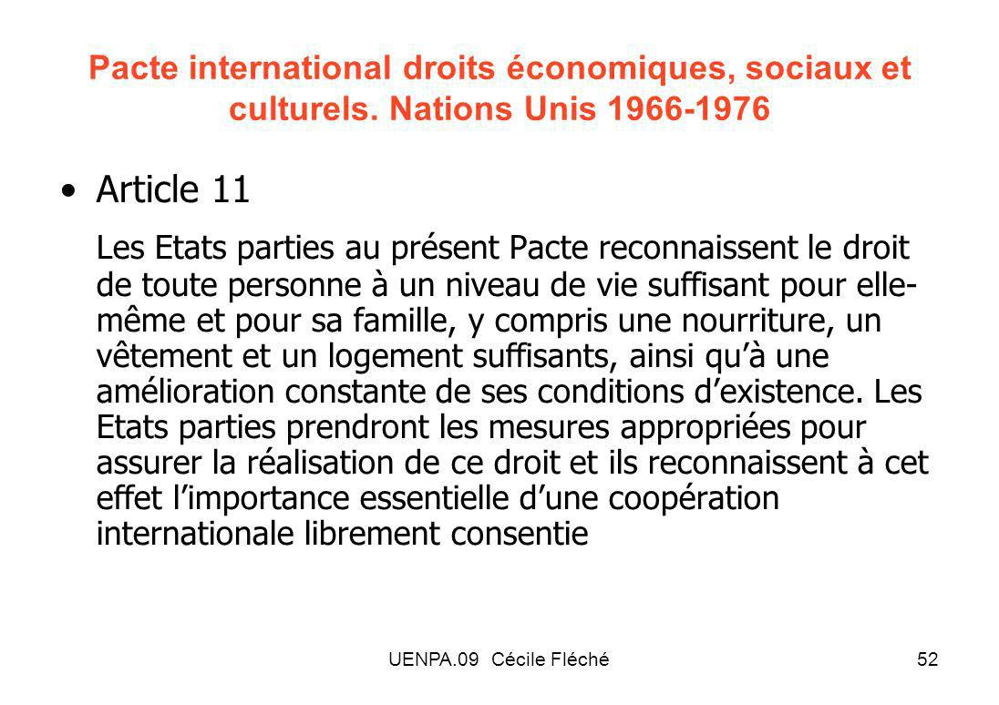 Pacte international droits économiques, sociaux et culturels