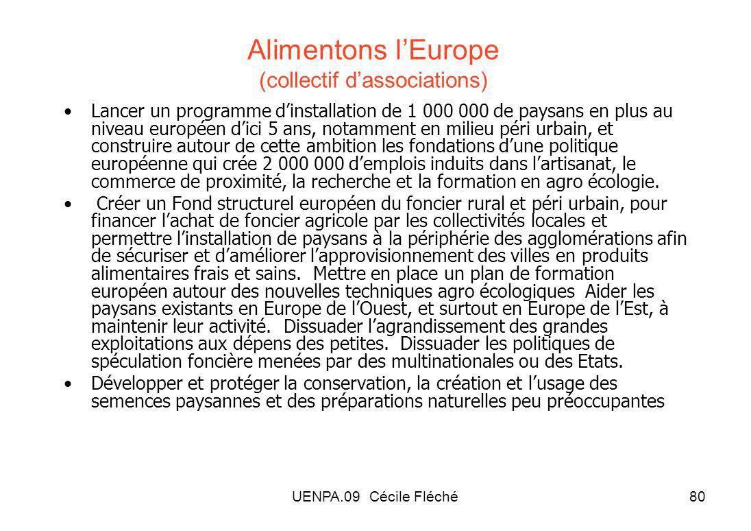 Alimentons l'Europe (collectif d'associations)