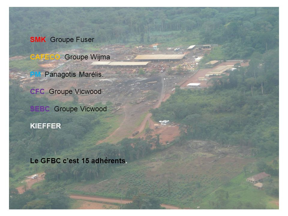 SMK Groupe Fuser CAFECO Groupe Wijma. PM Panagotis Marélis. CFC Groupe Vicwood. SEBC Groupe Vicwood.