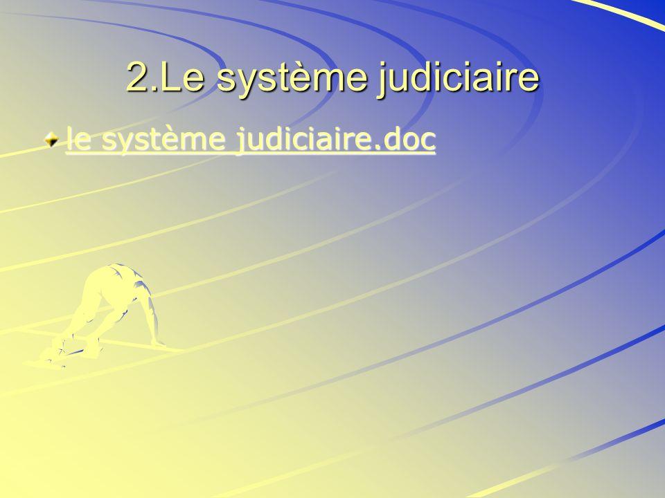 2.Le système judiciaire le système judiciaire.doc