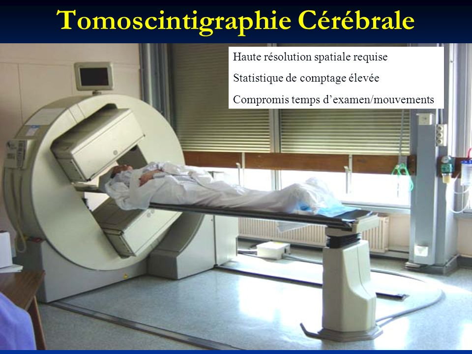 Tomoscintigraphie Cérébrale