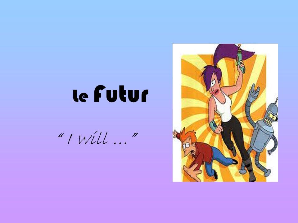 Le Futur I will …