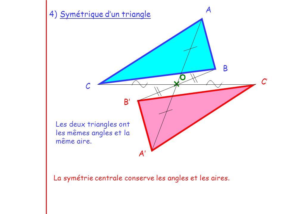 Symétrique d'un triangle